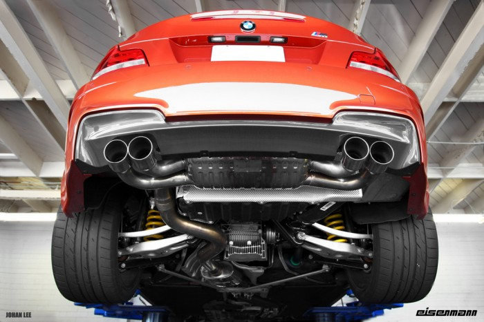Eisenmann Bmw 1m Coupe Full Race Exhaust Unscene Media
