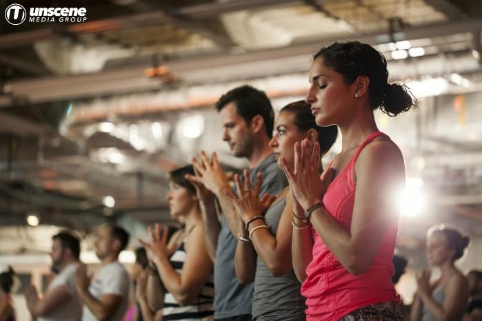 VibeUP: Bayless Block Party - Yoga 1