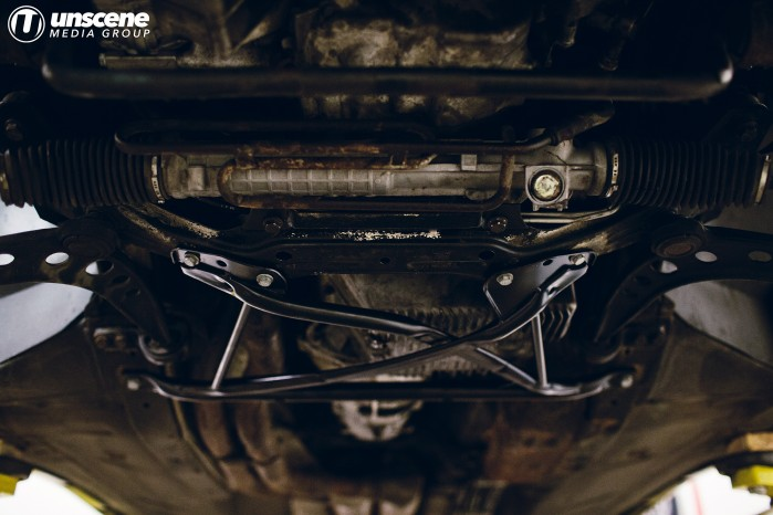 Project Aubergine: X-Brace Installed
