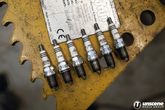 Project Aubergine: Old Spark Plugs