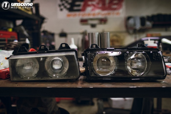 Project Aubergine: Depo Headlights with FX-R Retrofit