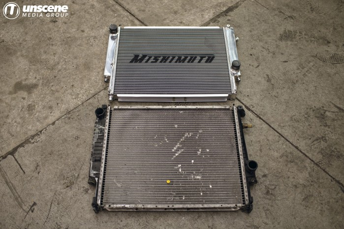 Project Aubergine: Mishimoto Radiator vs Stock