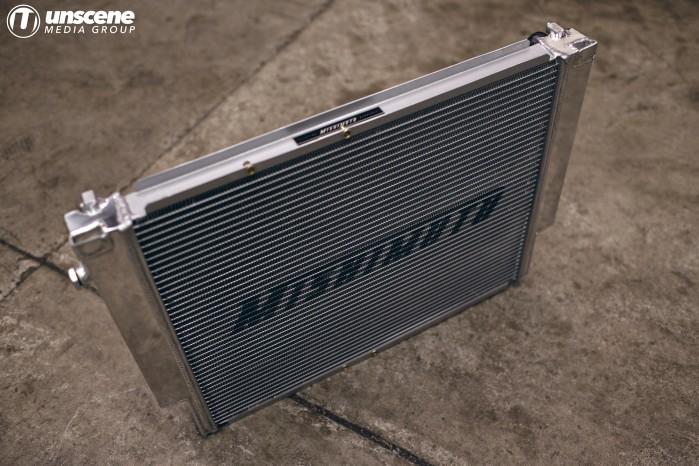 Project Aubergine: Mishimoto Radiator