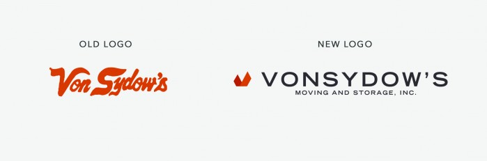 Von Sydow's Logo Evolution