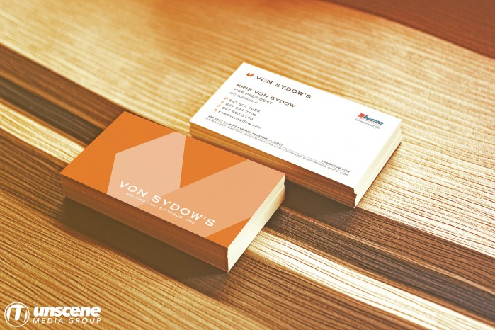 Von Sydow's Moving - Business Cards