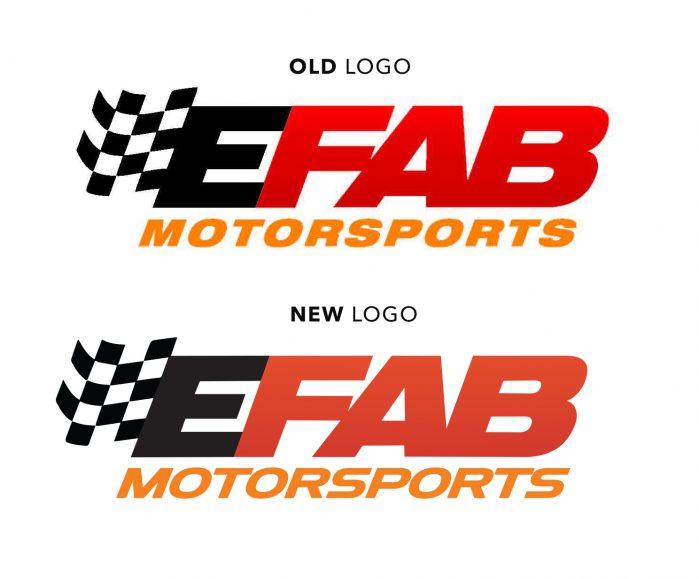 eFab Motorsports Logo Evolution