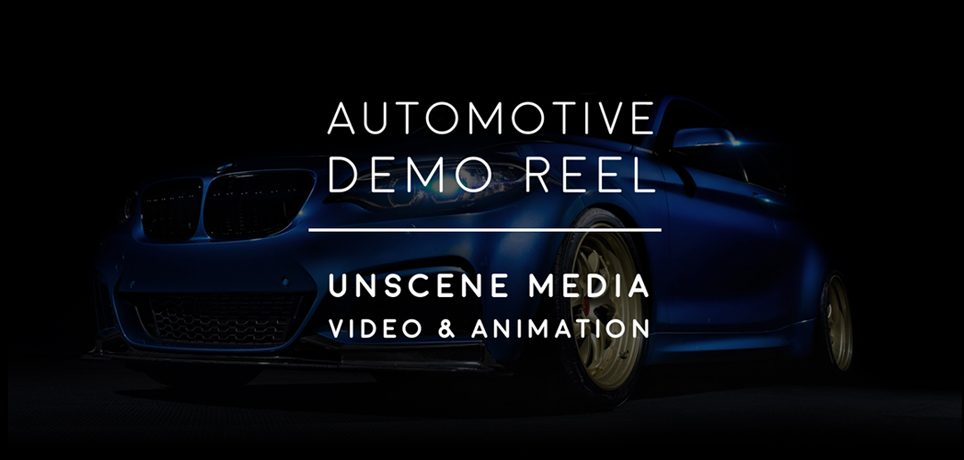 UMG Automotive Video Demo Reel