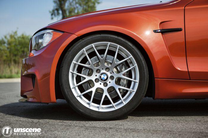 Valencia Orange BMW 1M